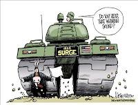 Surge vs Democrats