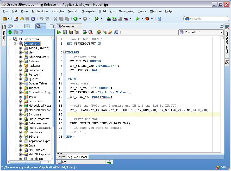 how to write pl sql program in mysql