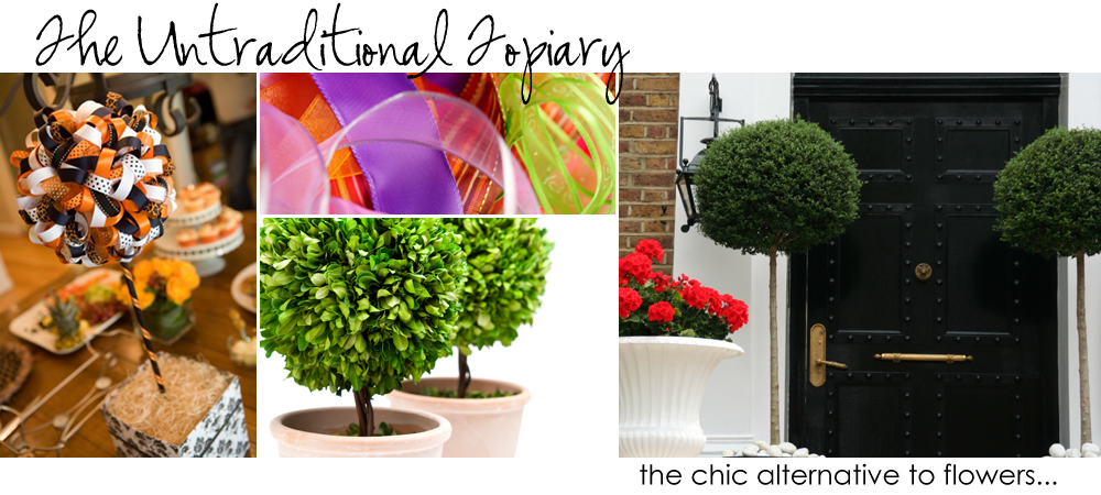 the untraditional topiary