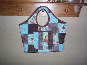 Machine Quilted Goodness in a bag