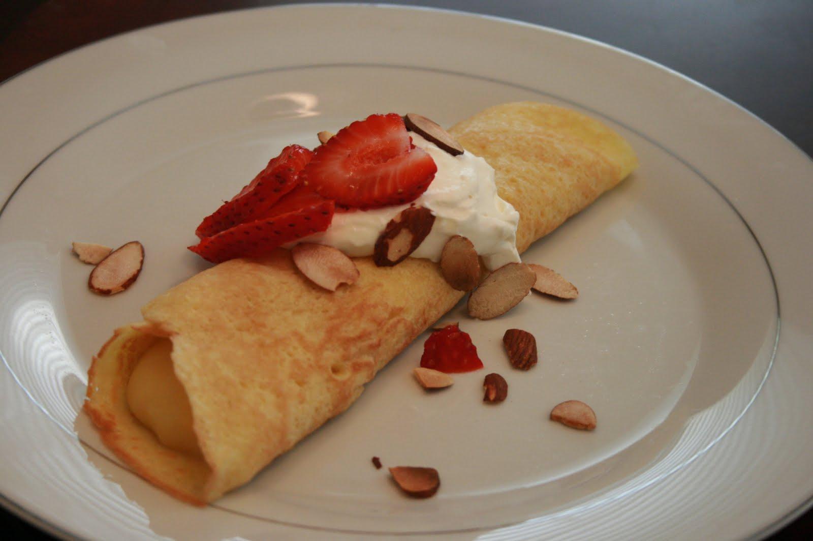 Fabulous Foods!: Almond Cream Crepes