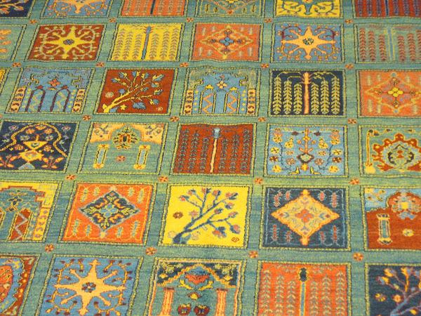 El mundo de las alfombras persas for Restauracion alfombras persas