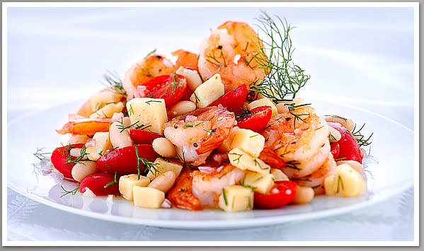 ... Spanish at 41: Recipe: Pan Roasted Shrimp with Wisconsin Aged Parmesan