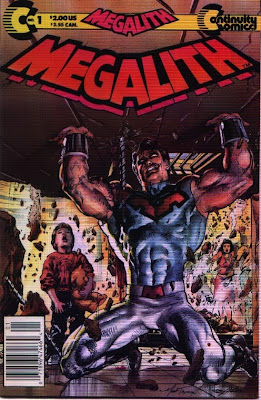 cover of Megalith #1 from Continuity Comics