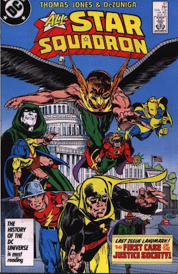 cover of All-Star Squadron #67 from DC Comics