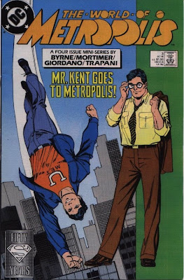 cover of The World of Metropolis from DC Comics