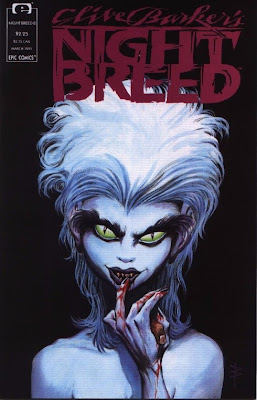 cover of Clive Barker's Nightbreed #8 from Epic Comics