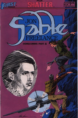 cover of Jon Sable Freelance #26 from First Comics