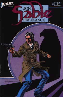 cover of Jon Sable Freelance #29 from First Comics