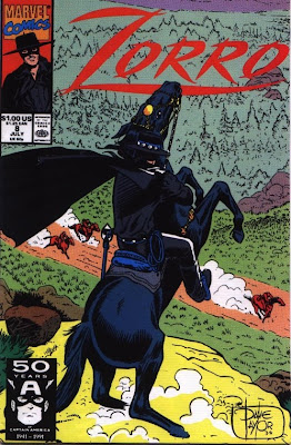 cover of Zorro #8 from Marvel Comics