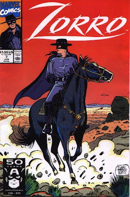 cover of Zorro #7 from Marvel Comics