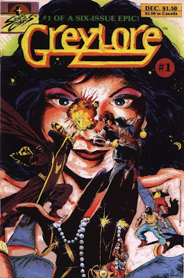 cover of Greylore #1 from Sirius Comics