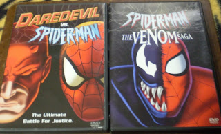 Daredevil vs Spider-Man and Spider-Man The Venom Saga DVDs
