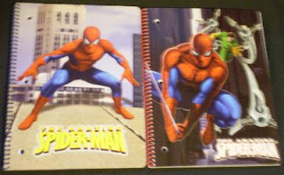 Spider-Man 2009 notebooks