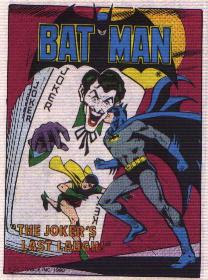 Batman in The Joker's Last Laugh mini comic cover