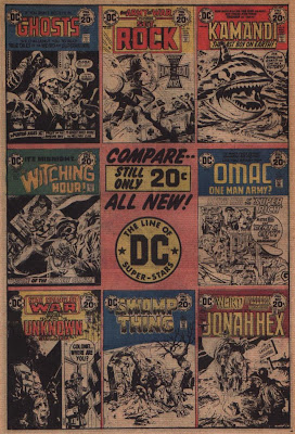 DC Comics titles for twenty cents from Adventure Comics #436