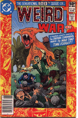 cover for Weird War Tales #100