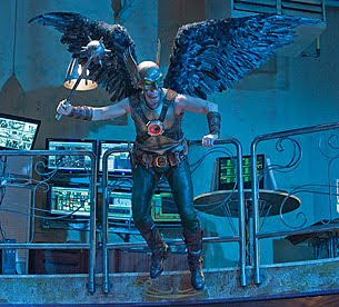 Michael Shanks as Hawkman on Smallville