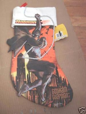 Batman Gotham Guardian Christmas stocking