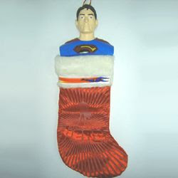 Superman Christmas stocking #4