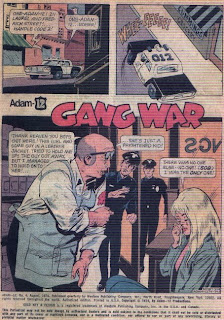 Gang War from Adam-12 #4