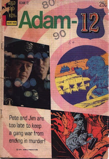 Cover of Adam-12 #4 from Gold Key