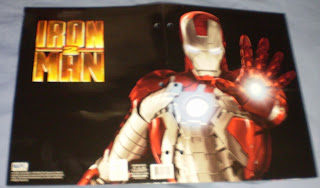 Exterior of the Iron Man 2 Blaster portfolio