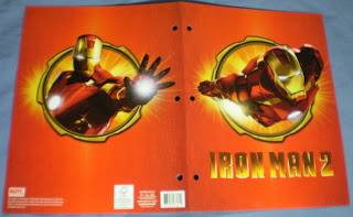 Exterior of Iron Man 2 flying portfolio
