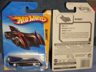 Hot Wheels Batmobile 2010