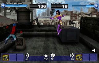 Part two of Shadow Avenger vs Xena in Superhero City