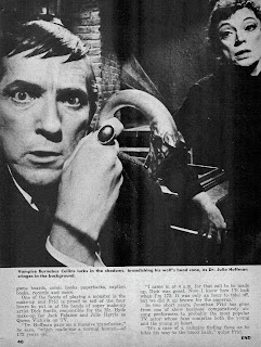 Page seven of the Dark Shadows article from Famous Monsters of Filmland #59