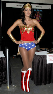 Adrianne Curry as Wonder Woman