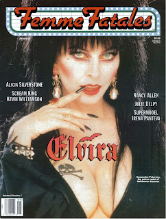 Front cover of Femme Fatales vol 6 #7 featuring Elvira