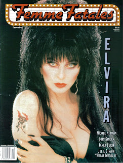 Cover of Femme Fatales vol 4 #4 featuring Elvira
