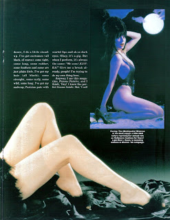 Elvira feature from Femme Fatales vol 4 #4 page 2