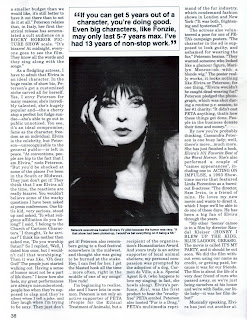 Elvira feature from Femme Fatales vol 4 #4 page 7