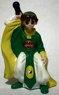 Mystery fantasy figurine
