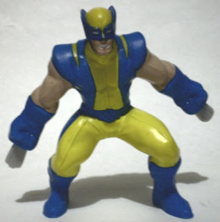 Front of Wolverine from McDonald's Marvel Heroes 2010 set