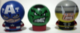 Captain America, Hulk and Thor Marvel Heroes Heads