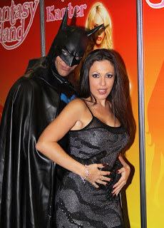 Amy Fisher and Batman