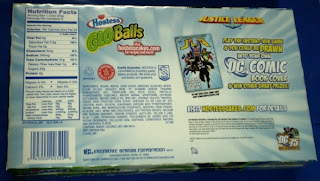 Back of Hostess Glo Balls box