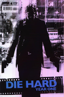Cover B of Die Hard Year One #4