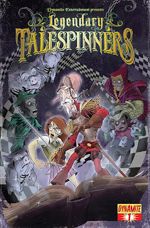 Cover B of Legendary Talespinners #1 from Dynamite