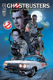Cover B of Ghostbusters: Displaced Aggression #4 from IDW