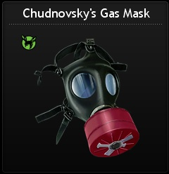 Free Chudnovsky's Gas Mask at Mafia Wars