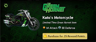 Kato's Motorcycle at Mafia Wars