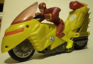 Justice League Mission Vision The Flash motorcycle #1