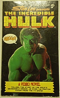 Front cover of The Incredible Hulk video novel