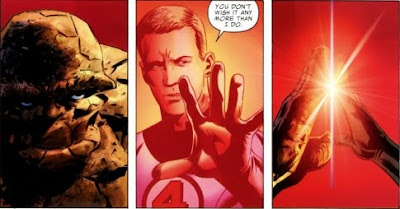 Ben Grimm and Johnny Storm from Fantastic Four #587