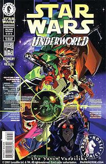 Cover of Star Wars: Underworld - The Yavin Vassilika #5 from Dark Horse